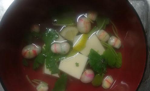 ひな祭りの料理に吸い物を作る!簡単にできるレシピ