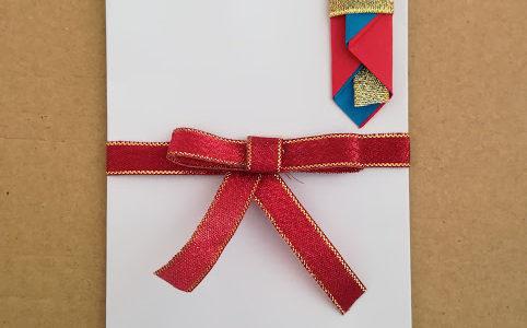 入学祝いの祝儀袋を手作りしたよ!熨斗の折り紙の折り方