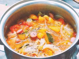 簡単晩御飯なら野菜スープ!疲れた時に楽に作れる食事レシピ