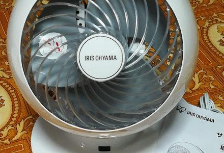 夏の台所暑さ対策にサーキュレーターで隣の部屋からエアコンの風を送る