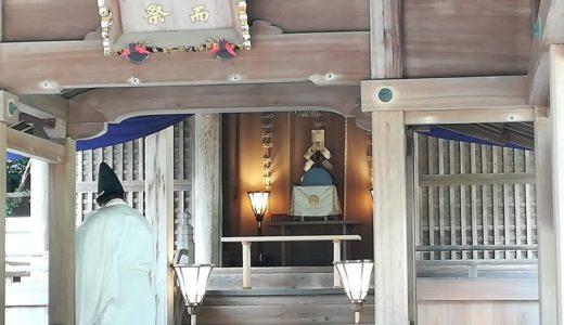 みあれ祭の神迎え神事!世界遺産沖ノ島の神様が一足先に大島へ